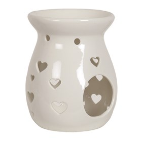 Heart Wax Melt Burner