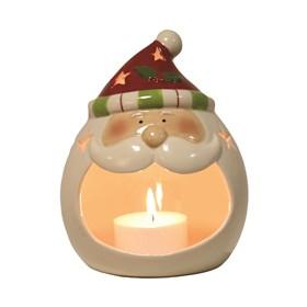 Santa Tealight Holder 18cm