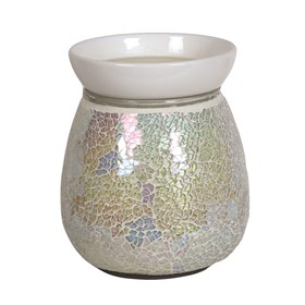 Pearl Crackle Electric Burner