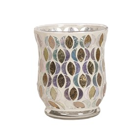Hurricane Tealight Holder - Gold & Silver Moon