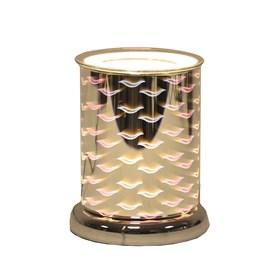 Cylinder 3D Electric Wax Melt Burner - Waves