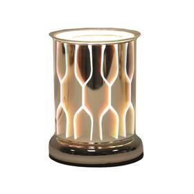 Cylinder 3D Electric Wax Melt Burner - Geo