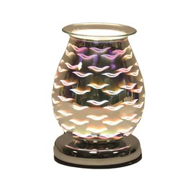 Oval 3D Electric Wax Melt Burner - Waves