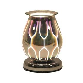 Oval 3D Electric Wax Melt Burner - Geo