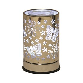 Cylinder Wax Melt Burner - Butterfly