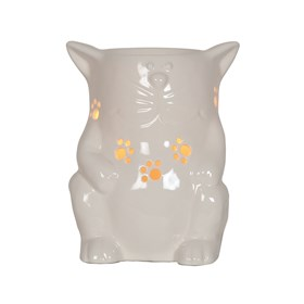 Electric Wax Melt Burner - Ceramic Cat