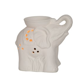 Electric Wax Melt Burner - Ceramic Elephant