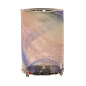 Wax Melt Burner - Blue Art Glass