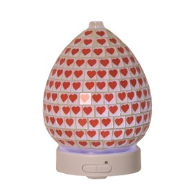 LED Ultrasonic Diffuser - Red Heart
