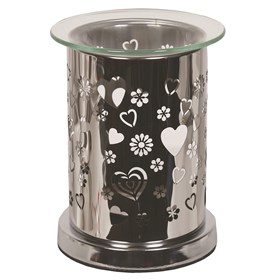 Mirror Wax Melt Burner - Heart