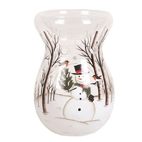 Wax Melt Burner - Snowman