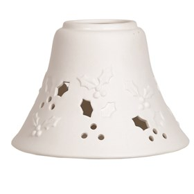 Ceramic Candle Jar Lamp Shade - Holly
