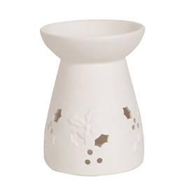 Ceramic Wax Melt Burner - Holly