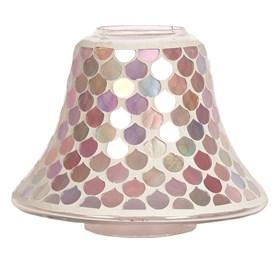 Candle Jar Lamp - Pink Droplet