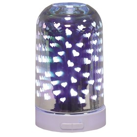 3D Ultrasonic Diffuser - Hearts