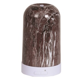 LED Ultrasonic Diffuser - Deep Red Marble