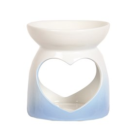 Wax Melt Burner - Blue Heart Burner