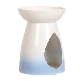 Wax Melt Burner - Blue Teardrop Burner