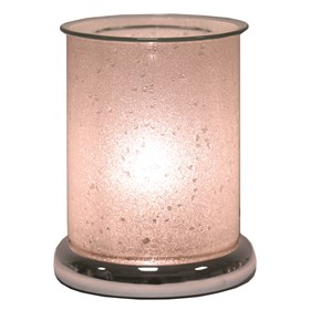 Cylinder Sherbet Electric Wax Melt Burner - Pearl
