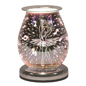 Oval 3D Electric Wax Melt Burner - Ballerina