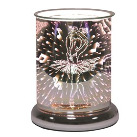 Cylinder 3D Electric Wax Melt Burner - Ballerina