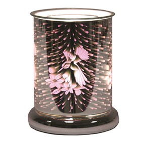 Cylinder 3D Electric Wax Melt Burner - Hummingbird