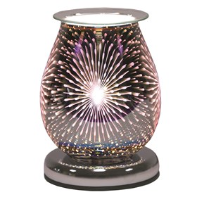 Oval 3D Electric Wax Melt Burner - Fountain