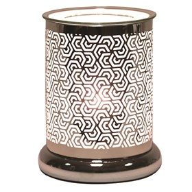 Silhouette Electric Wax Melt Burner - Hexagonal