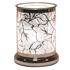 Silhouette Electric Wax Melt Burner - Leaves