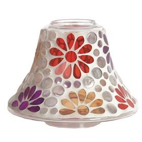 Candle Jar Lamp - Multi Floral