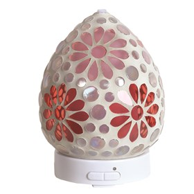 LED Ultrasonic Diffuser - Pink Floral