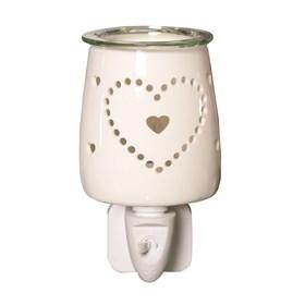 Plug In Wax Melt Burner - Heart
