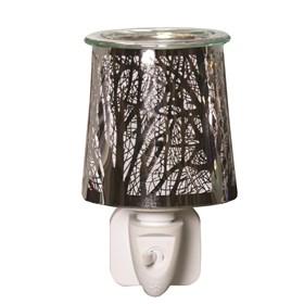 Wax Melt Burner Plug In - Forest Silhouette
