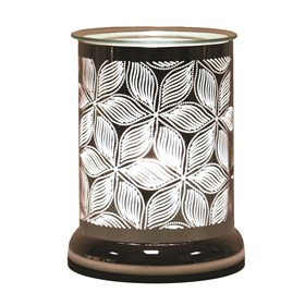 Silhouette Electric Wax Melt Burner  - Floral