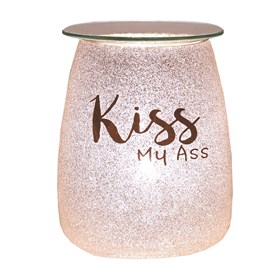 Electric Wax Melt Burner - Glitter 'Kiss My A**'