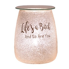 Electric Wax Melt Burner - Glitter 'Life's A B****'