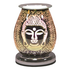 Oval 3D Electric Wax Melt Burner Touch - Buddha