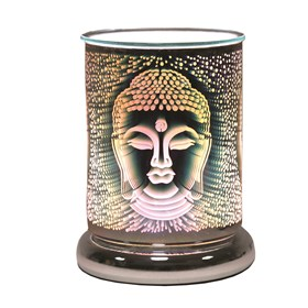 Cylinder 3D Electric Wax Melt Burner Touch - Buddha