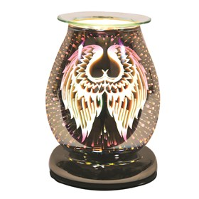 Electric Wax Melt Burner Touch - 3D Angel Wings Oval
