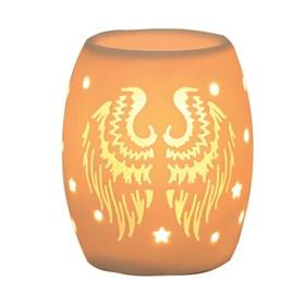 Electric Wax Burner – Ceramic Angel Wings