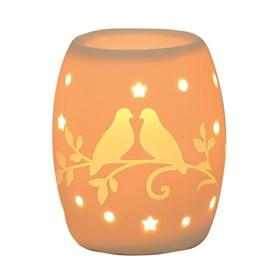 Electric Wax Burner – Ceramic Doves