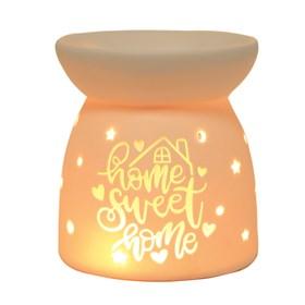 Wax Melt Burner - Ceramic Home Sweet Home
