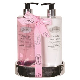 Cherry Blossom & Peach Luxury Hand Wash & Lotion