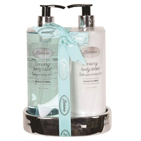Beach Floral Luxury Body Wash & Lotion