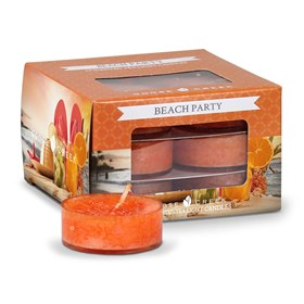 Beach Party Scented Tea Lights