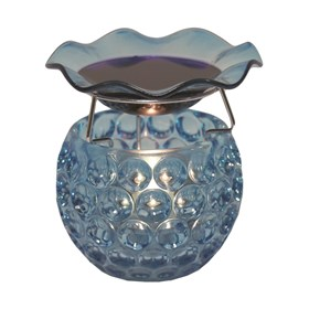 Blue Glass Wax Melt Burner