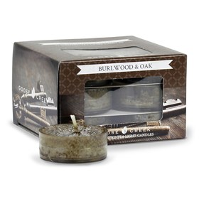 Burlwood & Oak Scented Tea Lights