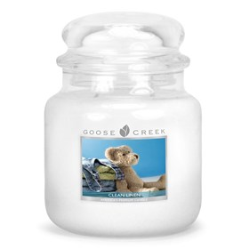 Clean Linen 16oz Scented Candle Jar