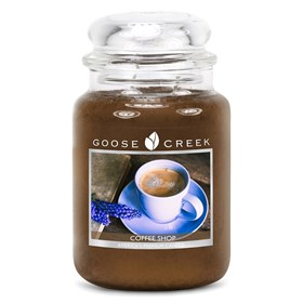 Coffee Shop 24oz Scented Candle Jar