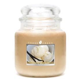 Dark Vanilla Bean 16oz Scented Candle Jar